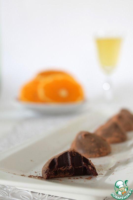 Апельсиновые трюфели ингредиенты