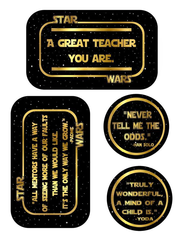 Teacher Appreciation- Star Wars!