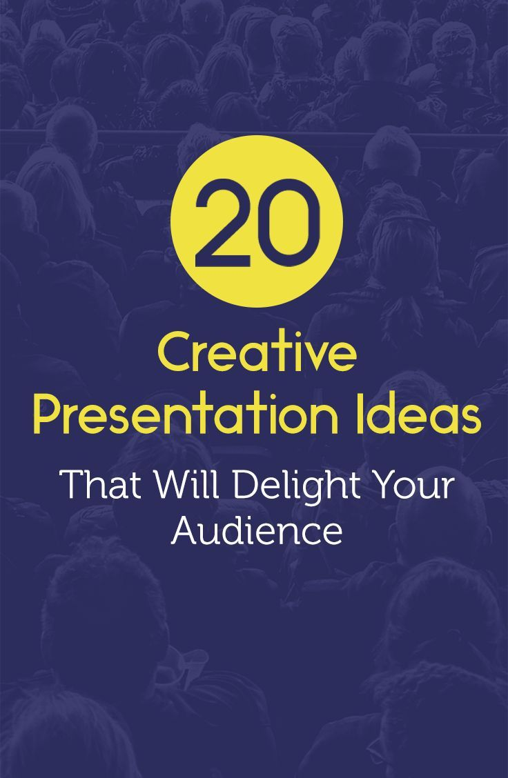 20 creative presentation ideas and tips you can use for business