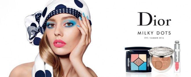 Dior Milky Dots Makeup Collection by Dior Summer 2016 - Летняя коллекция макияжа 2016 Диор