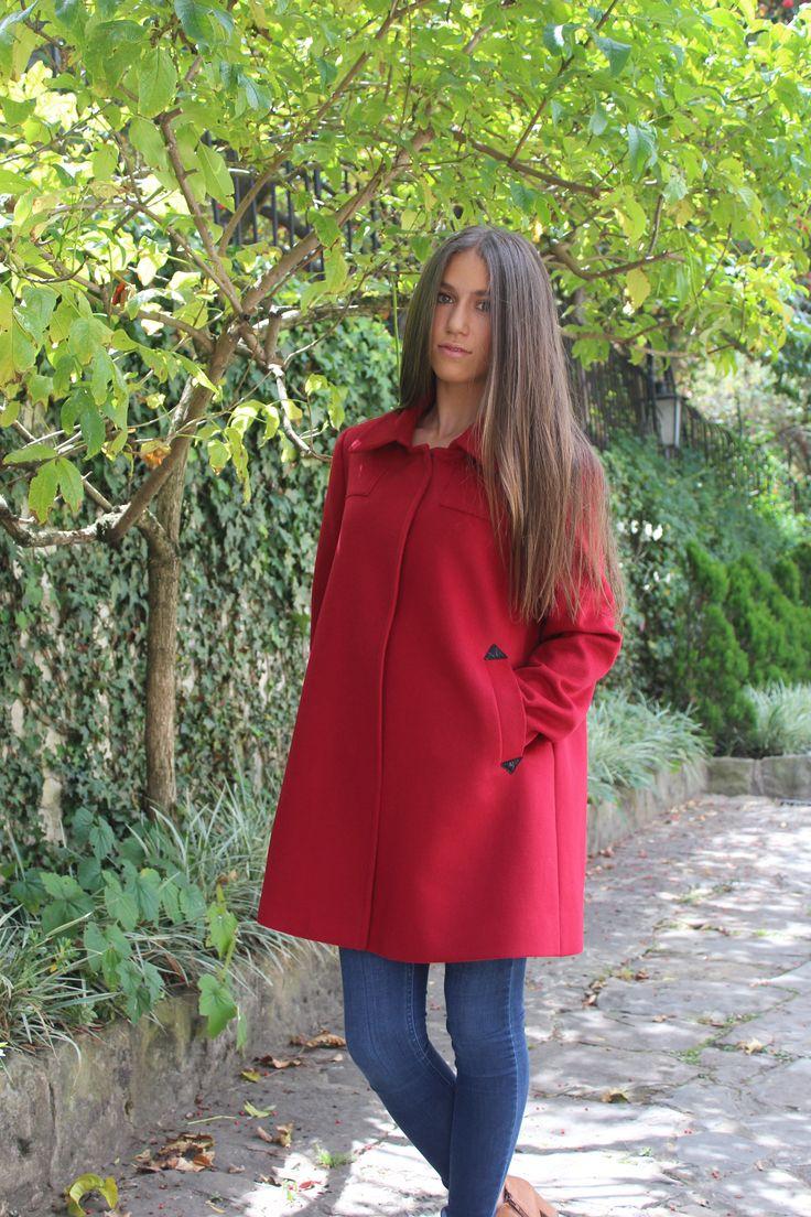 #abrigo#rojo#ElenaUrrutia#naturaleza#invierno