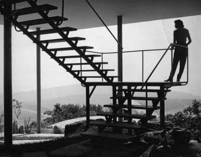The glass house. Lina bo bardi. Brazil 1950