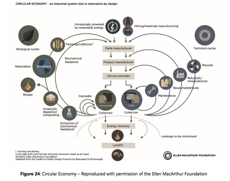 Creating circular economies:    The circular economy refers to an industrial economy that is restorative by intention; aims to rely on renewable energy; minimises, tracks…