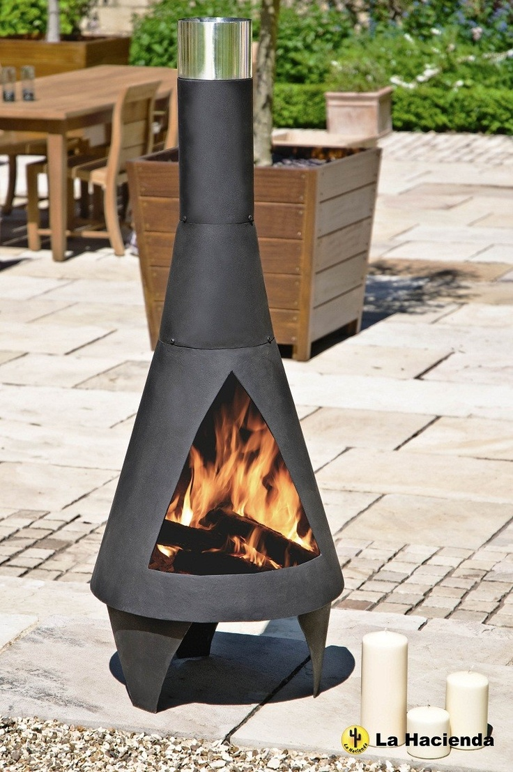 1000 images about chimineas firepits gel burners on - Cheminee contemporaine ...
