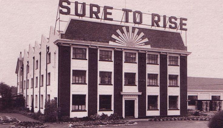 Edmond building, Christchurch- iconic NZ ( Baking Powder, also Cornflour, Custard Powder & later Cake Mixes, Jellies etc)