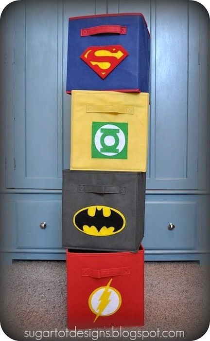 Super hero storage!