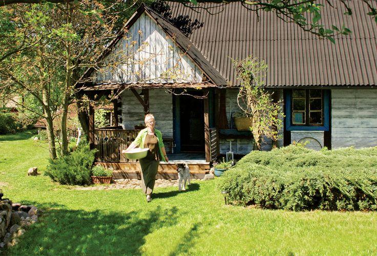 Old cottage house; Puszcza Biała / Poland