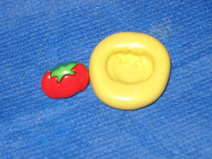 Tomato Flexible Push Mold Candy Food Safe Silicone #329 Fondant Chocolate by LobsterTailMolds on Etsy