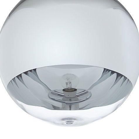 Buy Tom Dixon Mirror Ball Pendant, Large Online at johnlewis.com