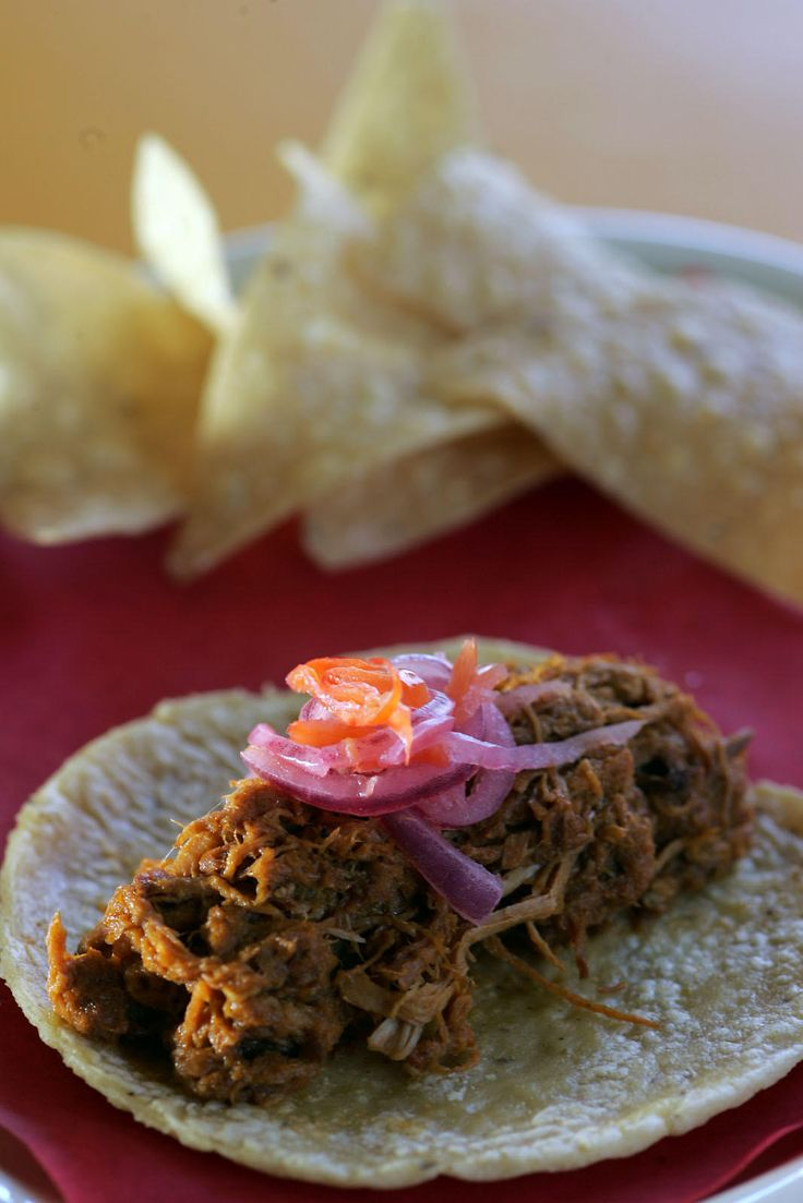 What started as a breakfast favorite in Mexico's tropical Yucatan is taking L.A. by storm -- in tacos and tortas and burritos and even as a sophisticated plated dish. Cochinita pibil is succulent slow-roasted pork that's so tender you can almost spoon into it. It has a depth of flavor ...