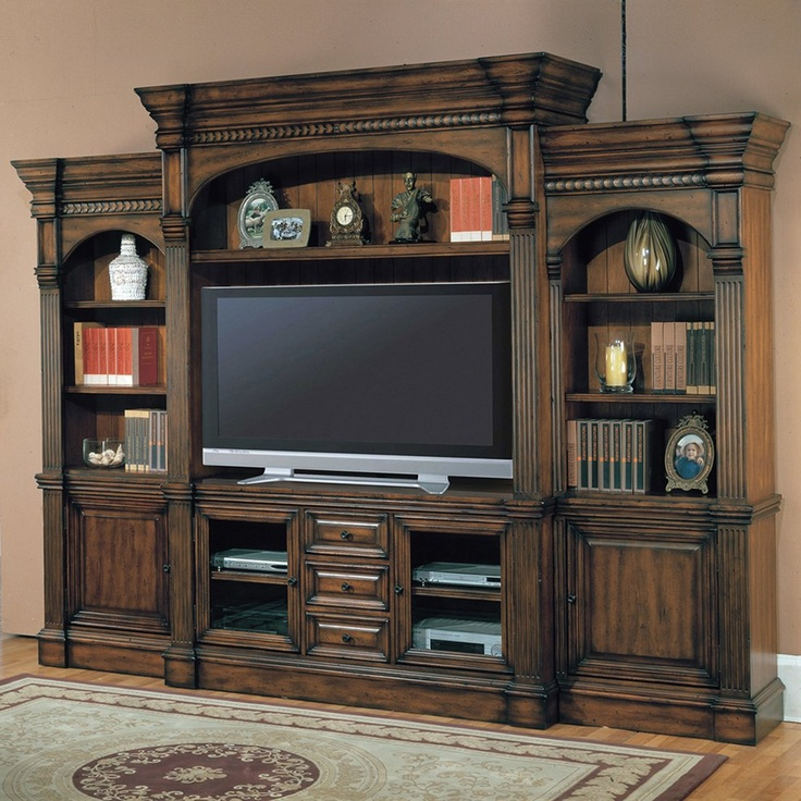 Parker House Genoa Five Piece Entertainment Center