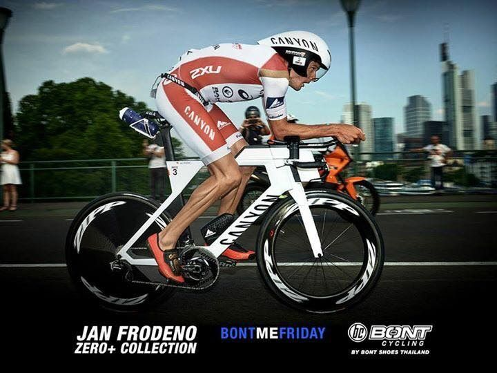 Jan Frodeno en sus zero+ #bontcyclingshoes | #bontcycling | #zeroplus | #theboasystem | #bontpilot | #bc | #lighterstrongerfaster |