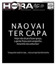 Mineiraço: As capas dos jornais brasileiros - PÚBLICO