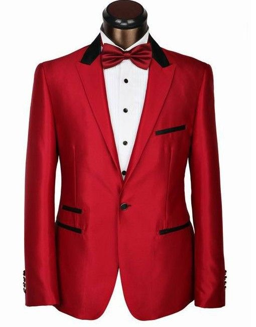 13 best Groom stuff images on Pinterest | Red tuxedo, Wedding ...