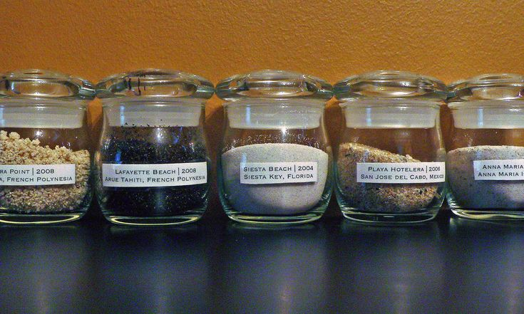 """beach memory jar project added to the """"to do someday"""" list"""