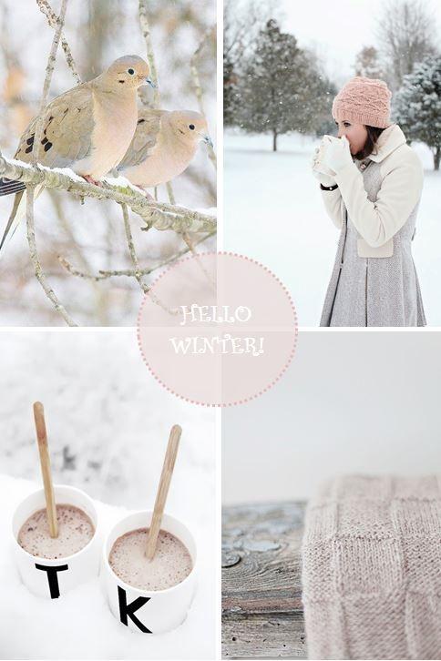 moodboard - winter blush