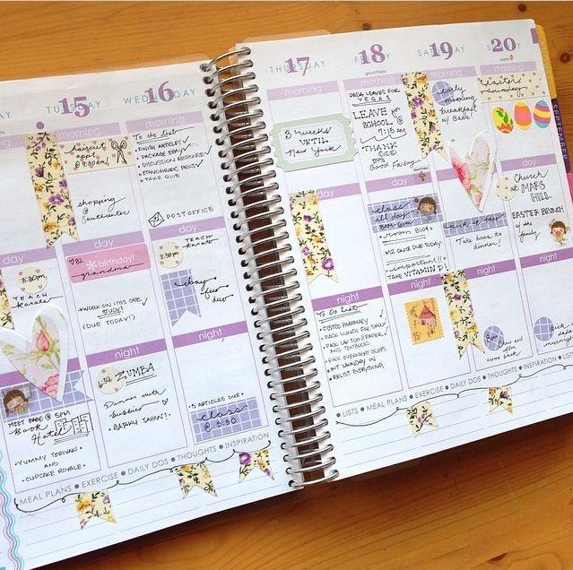 Erin Condren Life Planner - Lovely Lavender #eclifeplanner14
