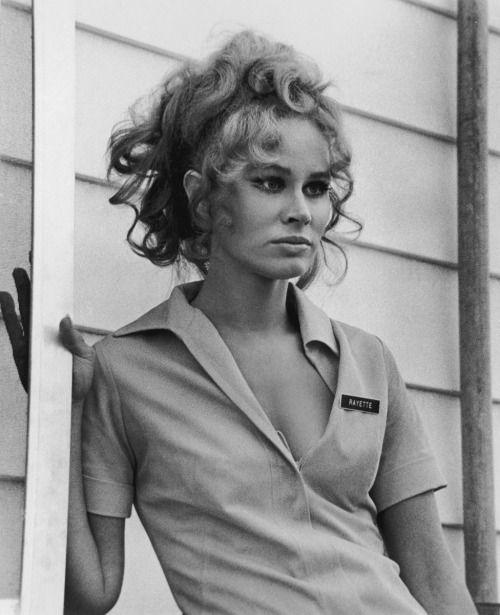 """Karen Black en el estelar de """"Five Easy Pieces"""" del director Bob Rafelson (1970)."""