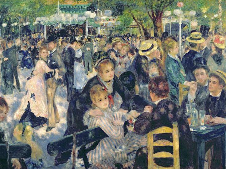 Ball at the Moulin De La Galette by Auguste Renoir (1876)