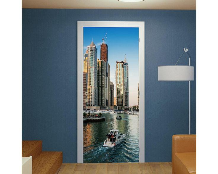 Dubai, αυτοκόλλητο πόρτας , δείτε το!