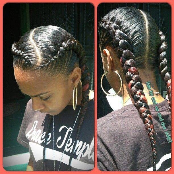 two braids!