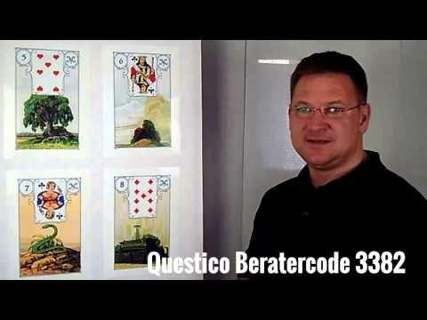 Lenormand Kartenlegen mit Frank Bernotat Teil 1 - YouTube