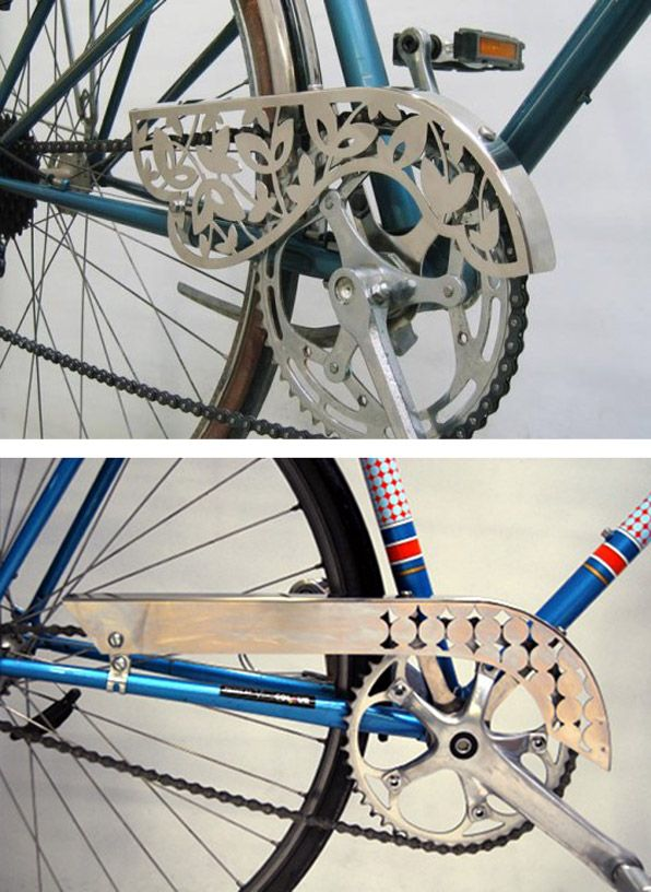 Poka Cycle laser cut chain guards