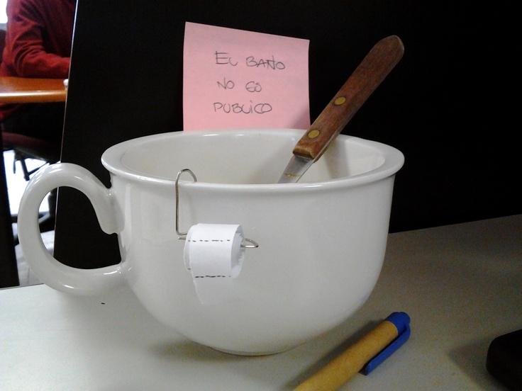 La pequeña tasa de café de mi amiga!!!