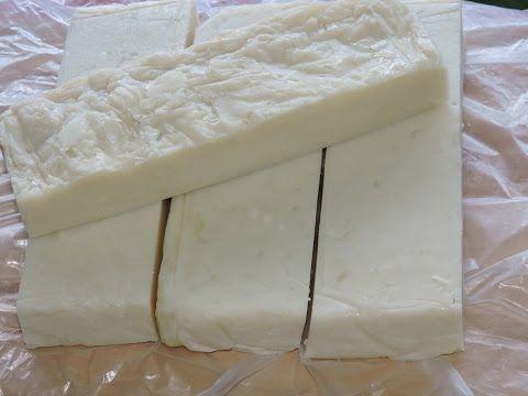 Cómo hacer bases de jabón opacas (Melt & Pour) - Video tutorial y receta | Cómo hacer jabones