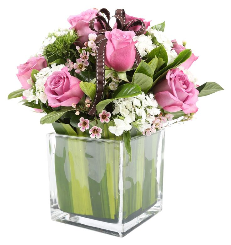 pink roses discount white this vase arrangement in marvelous flower free florist delivery contains flowers hydrangea with