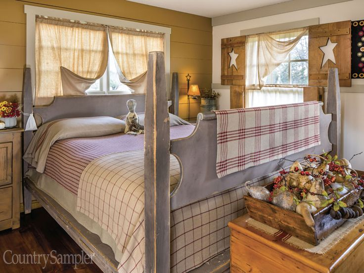 Farmhouse Bedroom Decor Ideas Are Very Warmly Country: Best 25+ Primitive Bedding Ideas On Pinterest