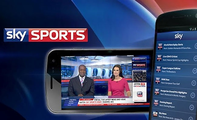Sky Sports TV App Lands On Android - Techdigg.com