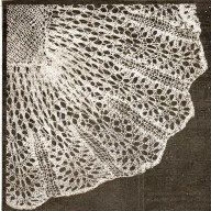 INSTANT DOWNLOAD-Vintage baby christening shawl lace knitting pattern,downton abbey era, pdf email delivery