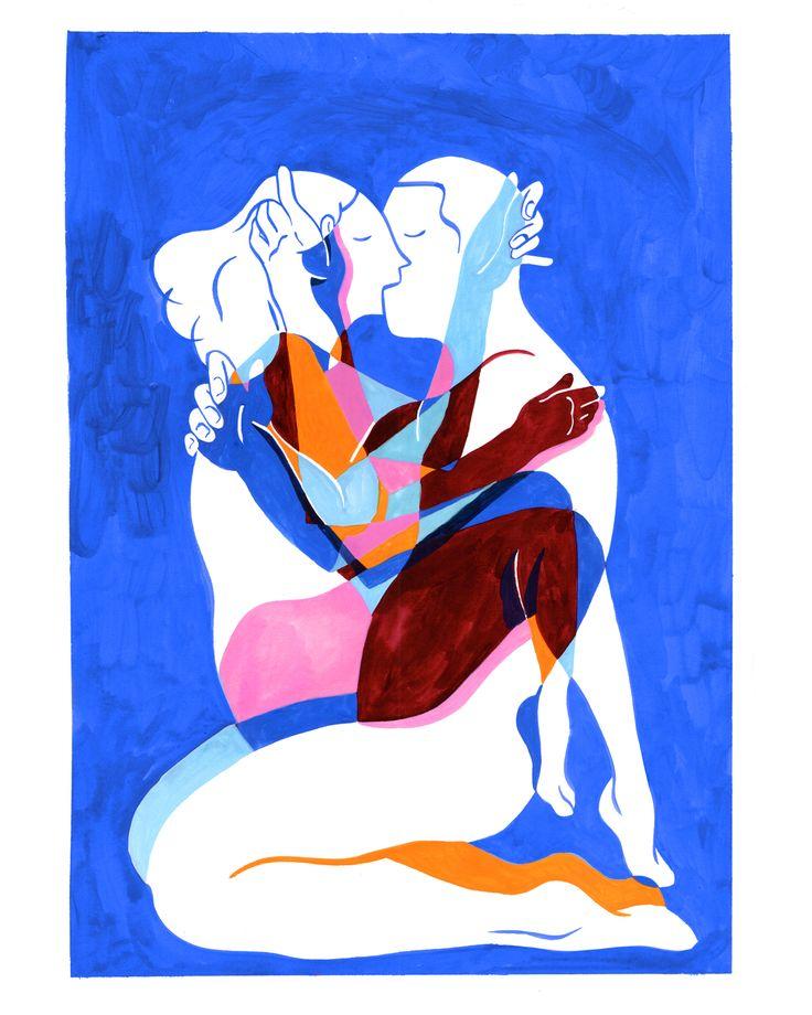 Love is blue on Behance
