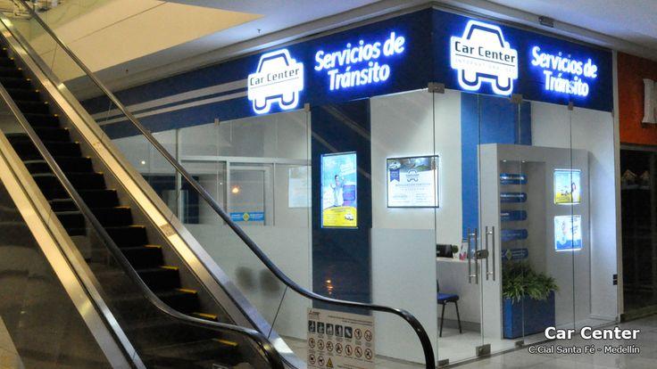 Car Center International compró los carteles luminosos para el diseño de su nuevo punto de venta en Medellin.