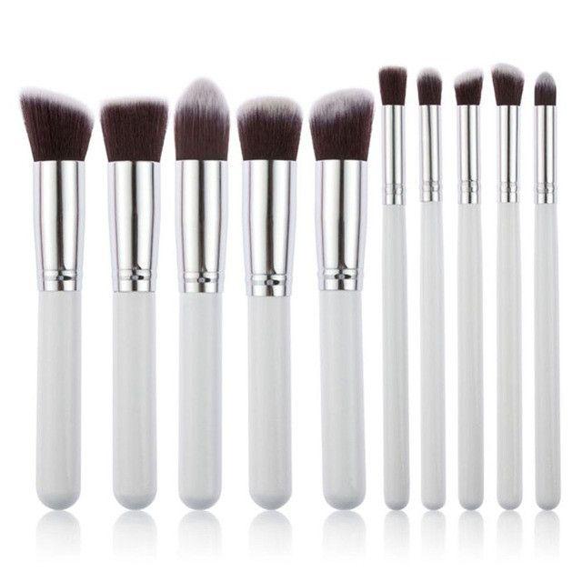 10 Piece Makeup Brush Sets