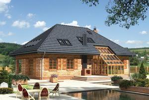 Классическая четырехскатная крыша