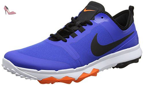 Nike Fi Impact 2, Chaussures de Golf Homme, Bleu (Game Royal/Black/Total Orange/White), 41 EU - Chaussures nike (*Partner-Link)