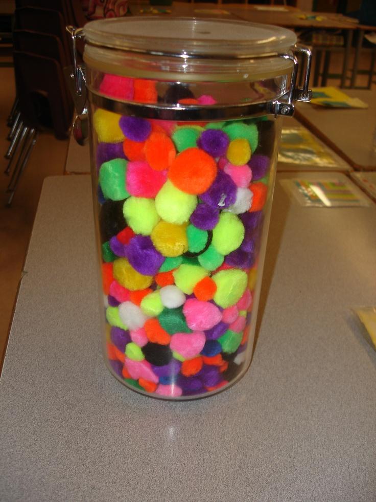 Classroom Jar Ideas : Best ideas about warm fuzzy jar on pinterest