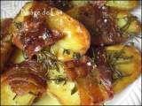 Recette Pommes de terre au four au thym et romarin