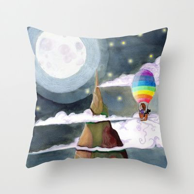 """The Top"" Throw Pillow / Indoor Cover (Almohada / cubierta interior) / (16 ""x 16"") 