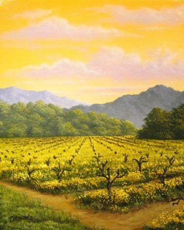 Napa Valley Mustard by Patrick O'Rourke