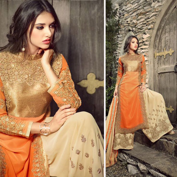indian pakistani bollywood designer anarkali salwar kameez stylish sharara types #Handmade #salwarkameez #Festive