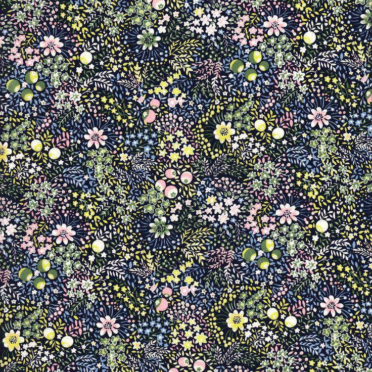 "Liberty of London Autumn Winter 2017 Collection: Garden of Temptation. Approximately 53″ wide. 100% cotton, Tana Lawn. Fabric is sold in 1/4 yard (9"") increment"