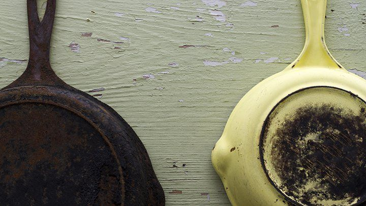 Do you have a burnt pan that is a mission to clean? We have a solution that will make the pan look brand new without spending time or elbow grease scrubbing it.