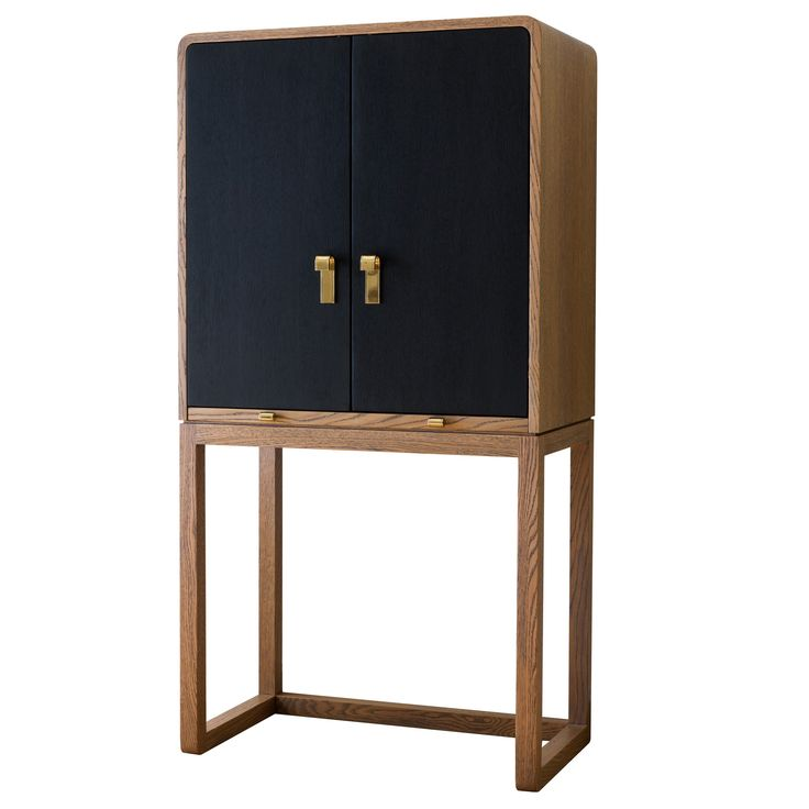 Buy Butler Bar by Comerford Collection - Made-to-Order designer Furniture from Dering Hall's collection of Mid-Century / Modern Bar Cabinets.