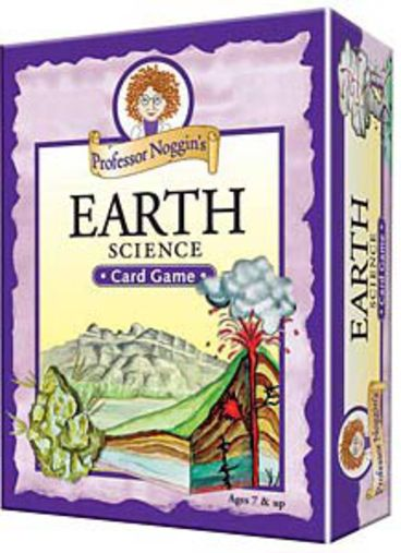 Prof. Noggins Earth Science Card Game - 98704