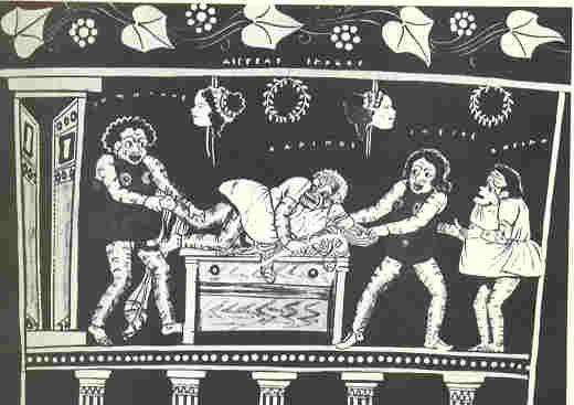 Ancient Greek Clowns
