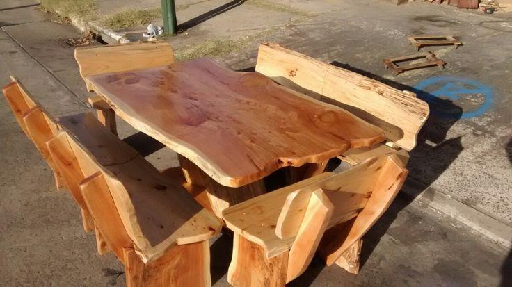 Mejores ideas sobre rusticas de 00 en y estilo tronco en - Mesa de tronco ...