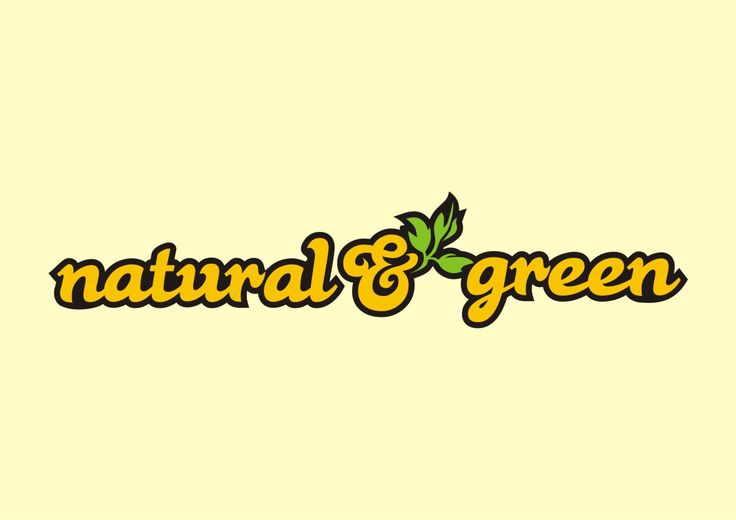 Natural & Green, logo by Victor Calomfir